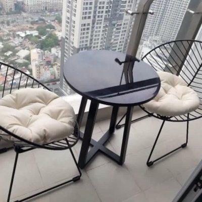 bộ bàn ghế sắt