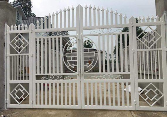 yếu tố tạo nên cổng sắt