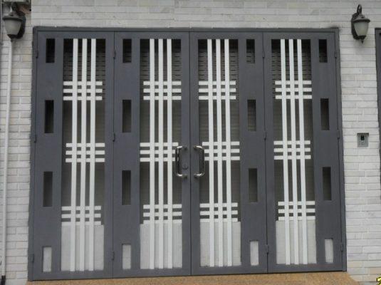 thiết kế thi công làm cửa sắt