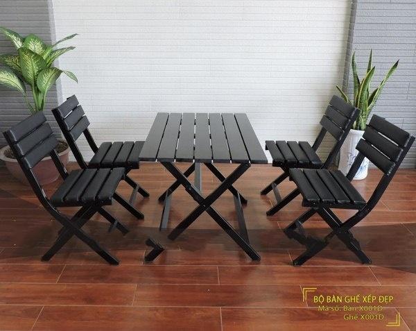 bộ bàn ghế sắt đẹp nhất