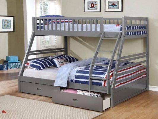 giường sắt hai tầng đẹp